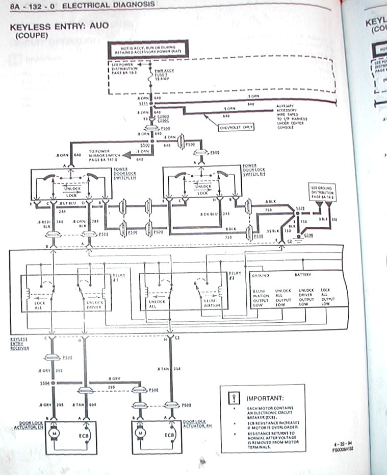 95ZKeylessEntry2  Blazer Wiring Diagram on